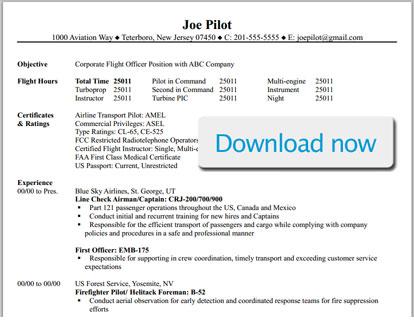 resume for aviation job resume sample. Black Bedroom Furniture Sets. Home Design Ideas