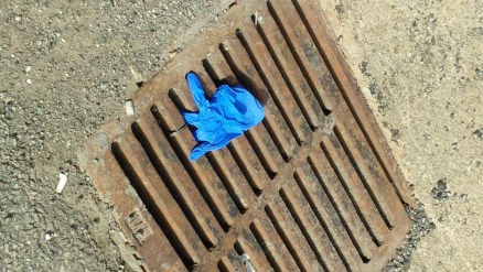 glove and grate