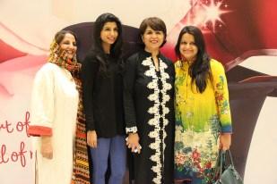 (L-R) Shanaz Ramzi, Mahwash, Naila Bhimji, (2)