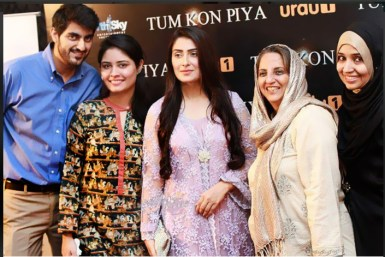 Team Starlinks with Ayeza Khan