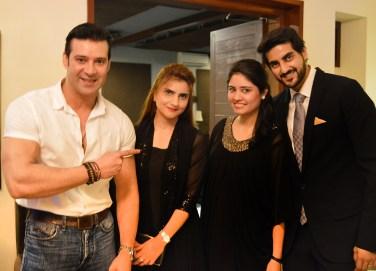 Mr & Mrs Moamar Rana and Mr & Mrs Turab Ramzi
