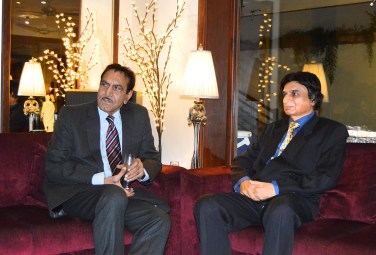 Mustafa Qureshi & Satish Anand