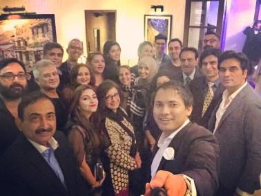 Selfie with Celebrities