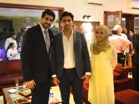 Turab Ramzi, Humayun Saeed and Rabia Khan