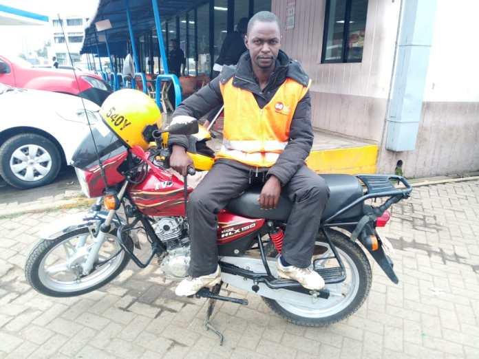 Evans Ondiba - Boda Boda Rider