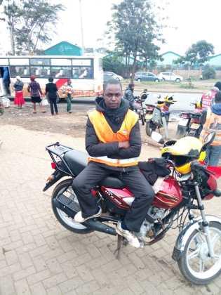 Evans - Boda Boda rider