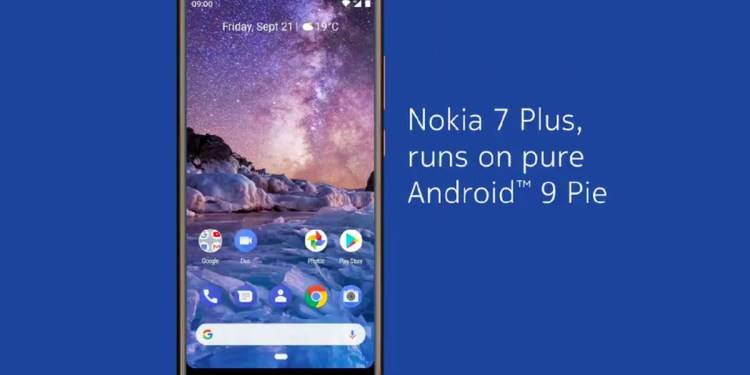 Nokia 7 Plus gets an update to Android 9 pie