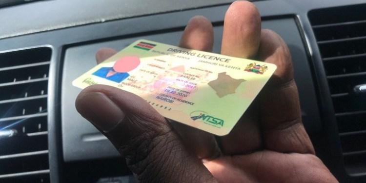 NTSA Driving License