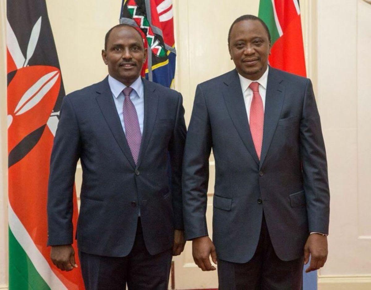 Budget: President Uhuru Kenyatta and Treasury Cabinet Secretary Ukur Yattani