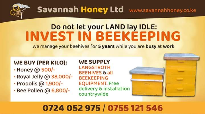 Commercial Bee Keeping