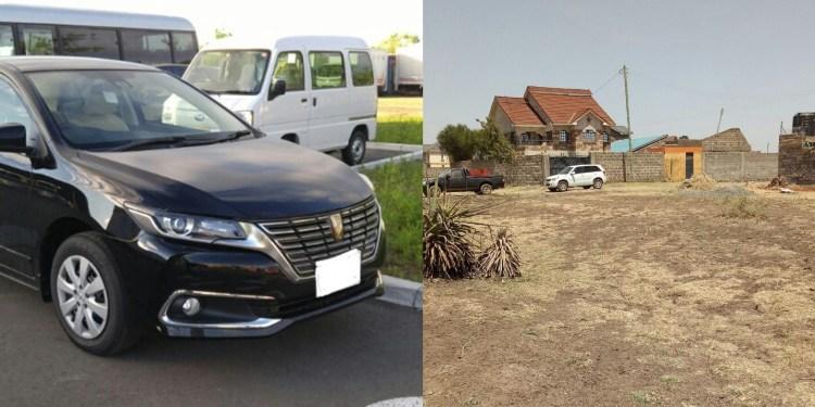 Land vs car