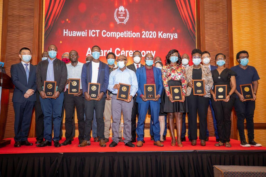 Group Photo - Global ICT Competition - Bizna Kenya