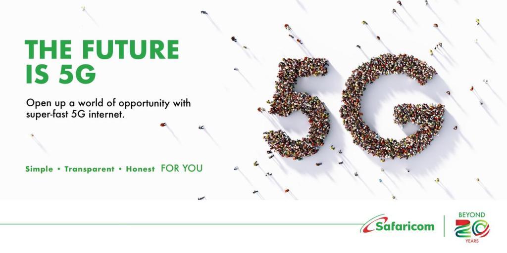 Safaricom Switches on 5G Across Kenya - Bizna Kenya