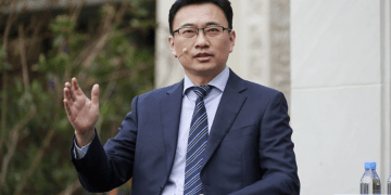 Huawei Head of Intellectual Property Rights Jason Ding - Bizna Kenya