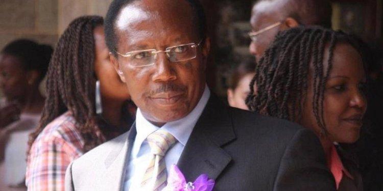 Samuel Gichuru Biography
