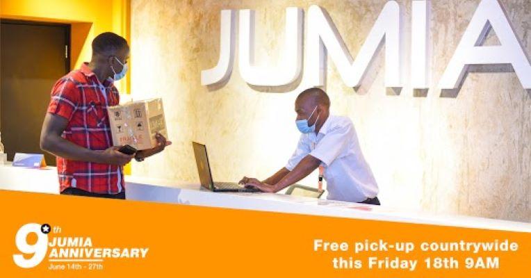 Jumia consumers enjoy FREE pickup during 9th Anniversary- Bizna Kenya