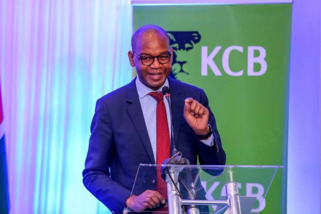 Joshua Oigara, Group CEO, KCB - Banking Awards 2021 - Bizna Kenya