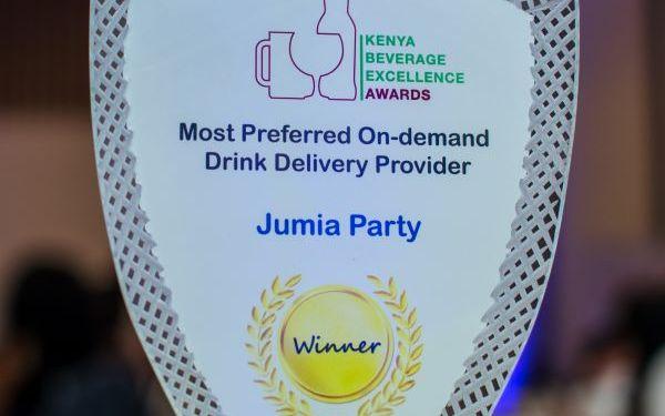 Jumia Kenya feted as Most preferred On-Demand Drink Delivery Provider - Bizna Kenya