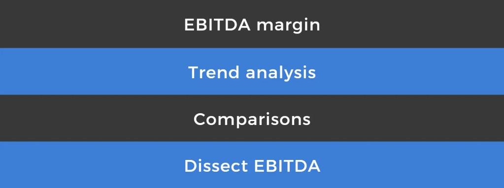 how to analyze ebitda