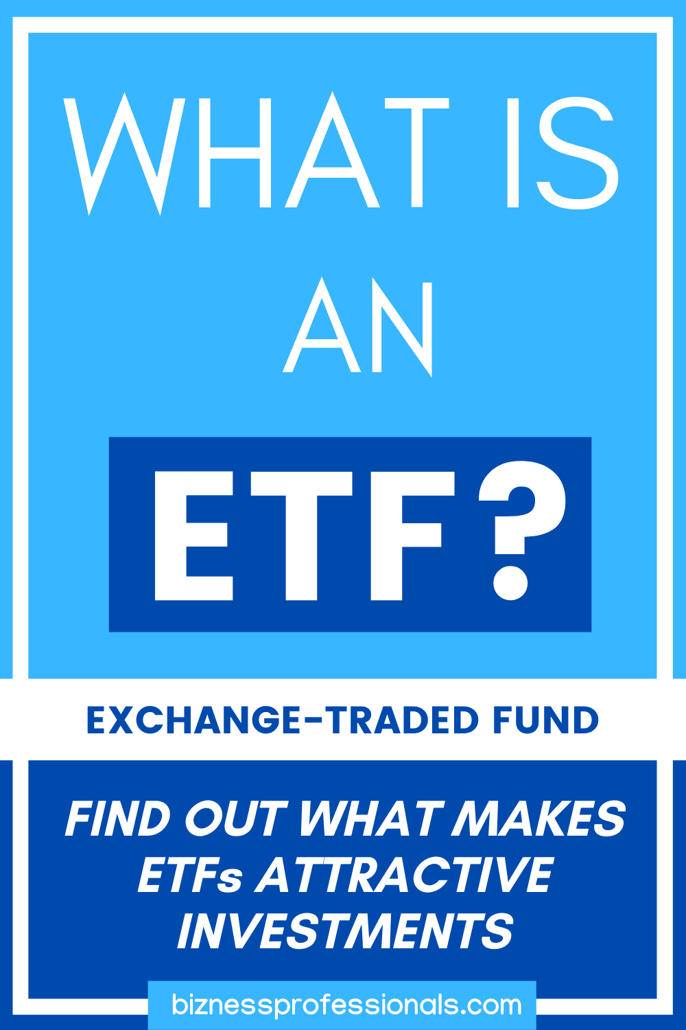 what is an exchange traded fund