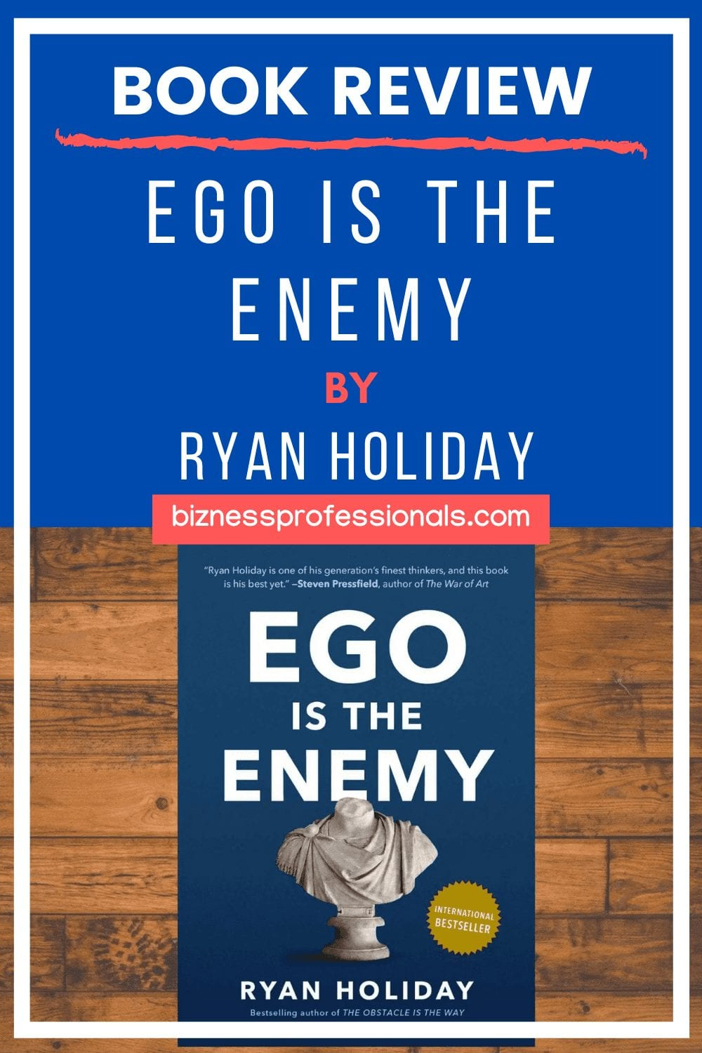 ego is the enemy book review and summary