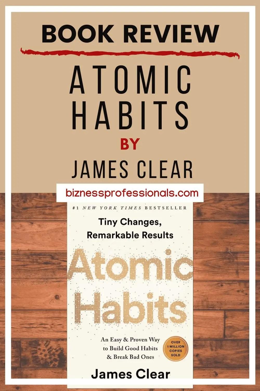 atomic habits book review