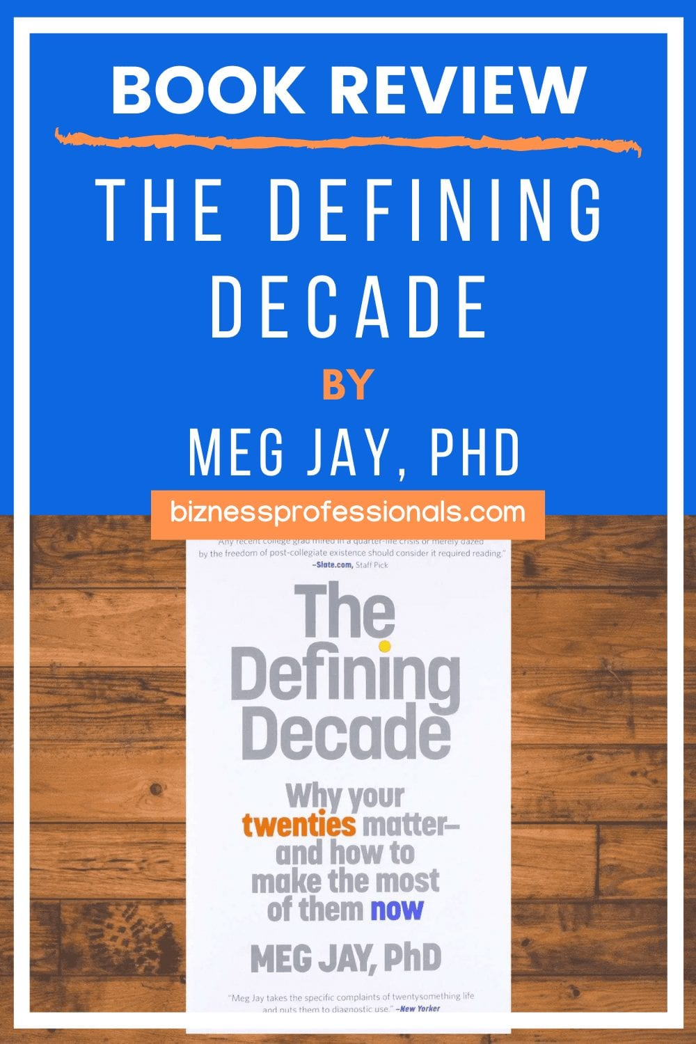 the defining decade book review