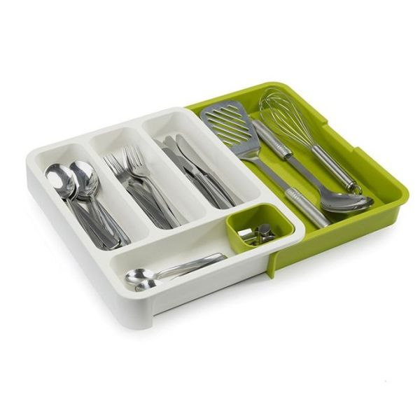 Cutlery Organizer Tray Expandable Drawer