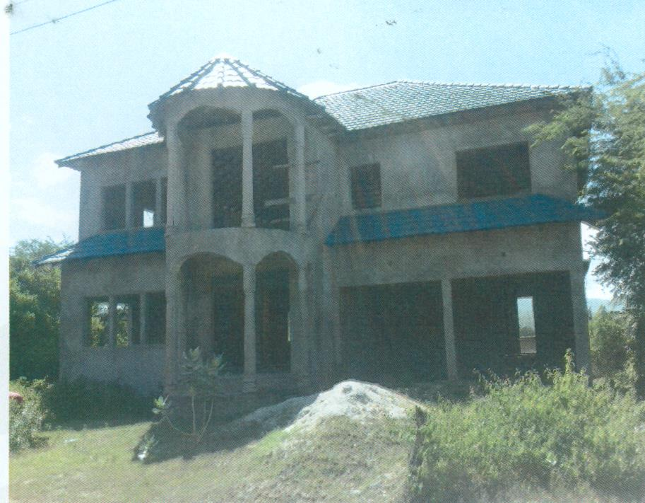 NHT Incomplete two storey property for sale in Clarendon