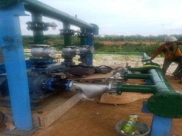 Pengerjaan Water Treatment Plant PT.Global Dairi Alami
