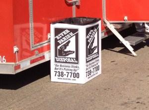 Corrugated Waste Box