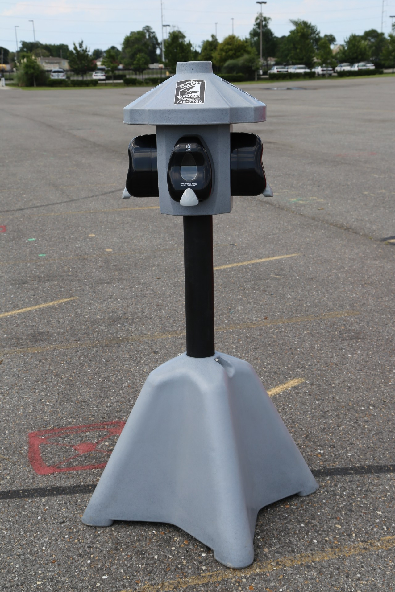 outdoor hand sanitizer stations