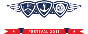 WWII Air, Sea & Land Festival logo