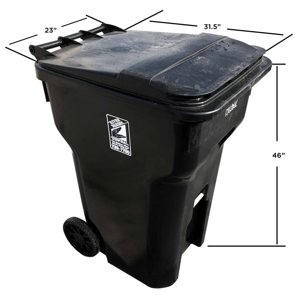 96 Gallon Universal Cart