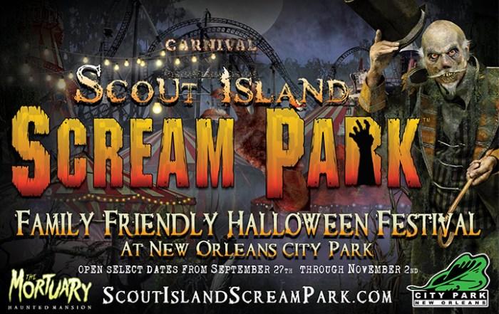 Scout Island Scream Park