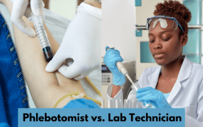 Key Differences in Lab Technicians and Phlebotomists