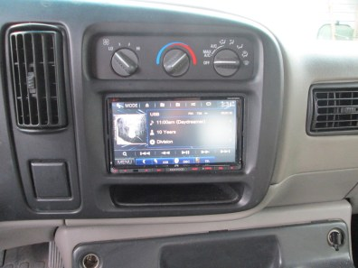 New stereo