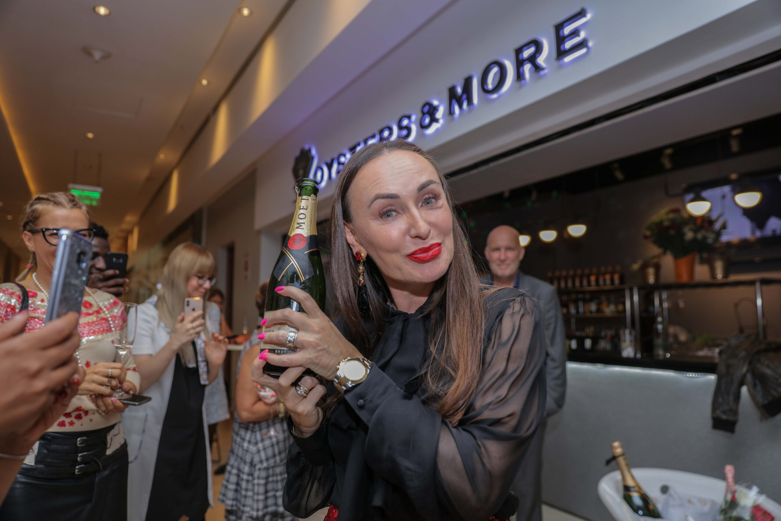 Moet & Chandon ink partnership with premier restaurant Oysters & More