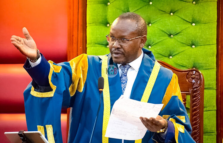 Speaker Ndegwa Wahome says impeachment motion was malicious
