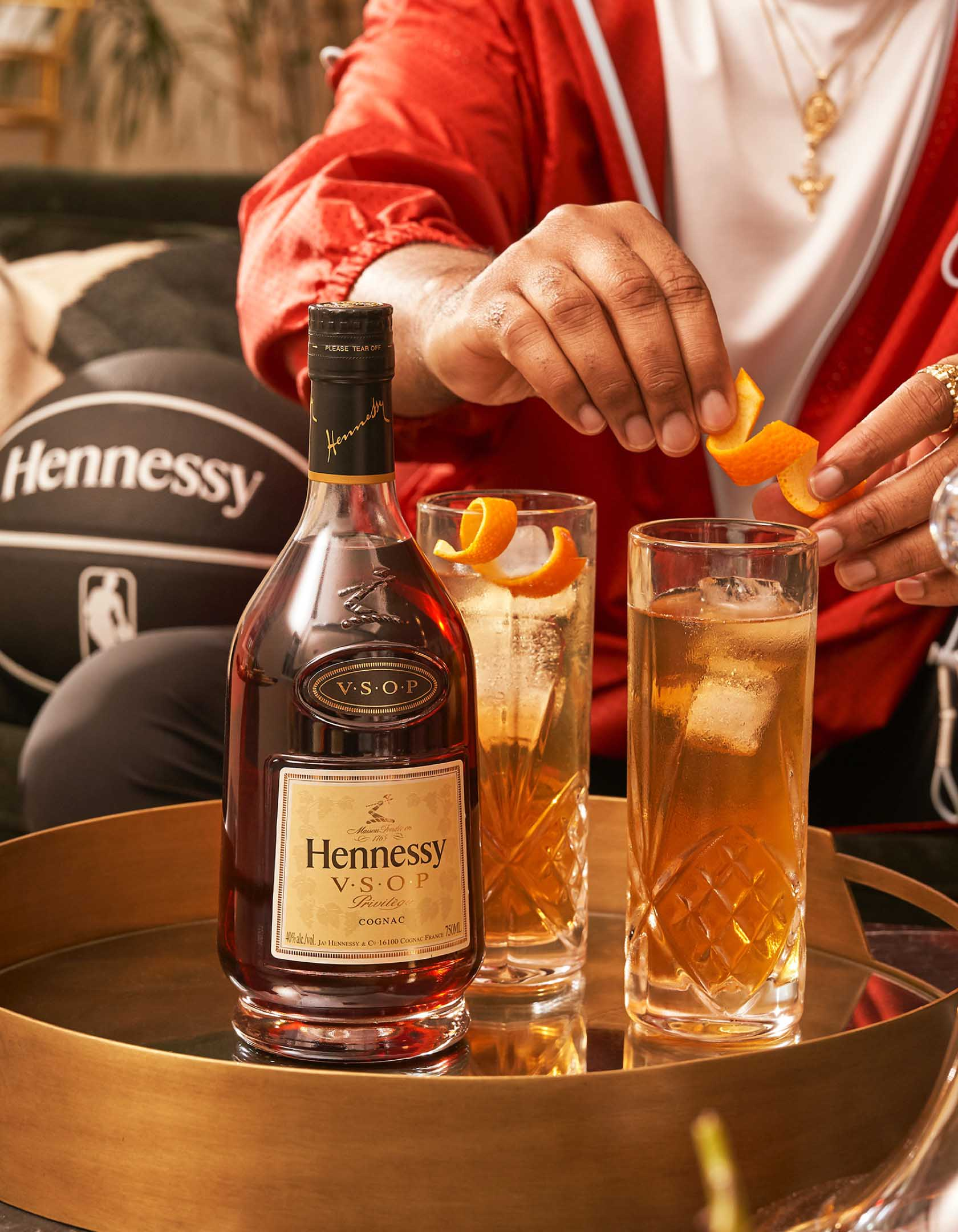 Hennessy becomes NBA's first global spirit partner
