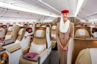 newly refurbished Emirates 777