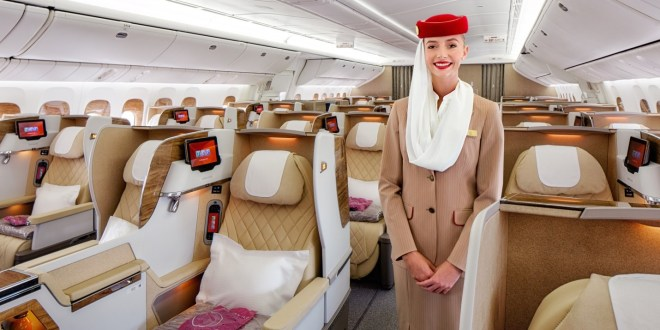 newly refurbished Emirates 777
