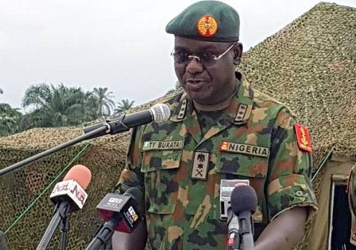 Former chief of army staff, Tukur Buratai, at his official handover stated that former President, Olusegun Obasanjo almost ended his career in the army 21 years ago.
