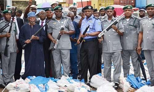 Nigeria Customs Seizes Contraband Worth N51m