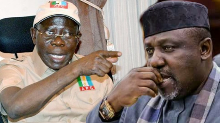 Image result for Presidential Committee Gives Oshiomhole 48 Hours To Cancel Okorocha Suspension