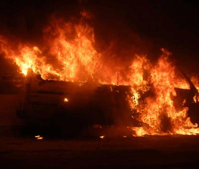 Katsina Central Market On Fire