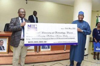NCC Donates
