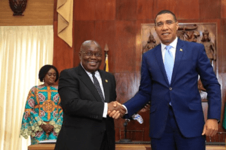 Ghana and Jamaica waive visa requirement