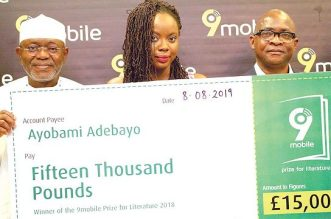 Ayobami Adebayo Emerges Winner of 9mobile
