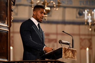 Anthony Joshua goes into self-Isolation